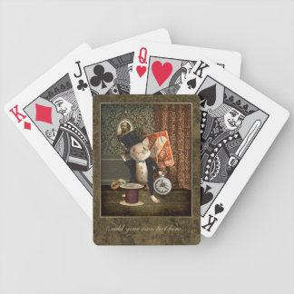The Victorian Tailor Mouse Bicycle Playing Cards
