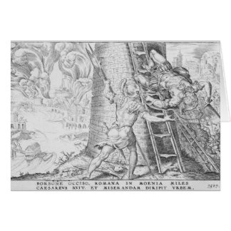 The Victories of Charles V 1527 Greeting Cards