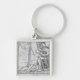 The Victories of Charles V, 1527 Keychain