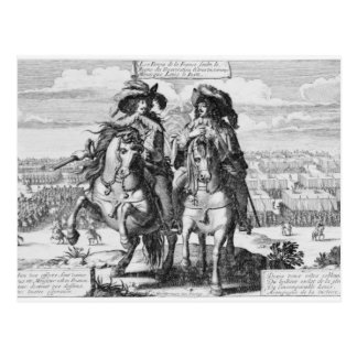 The Victories of Louis the Just, 1627 Postcard