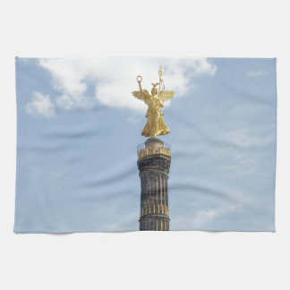 The Victory Column Angel Siegessaeule in Berlin Towels