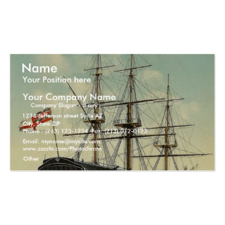 """The """"Victory"""" (Nelson's Flagship), stern, Portsmou Double-Sided Standard Business Cards (Pack Of 100)"""