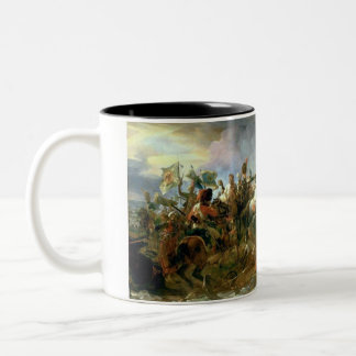 The Victory of Austerlitz Two-Tone Coffee Mug