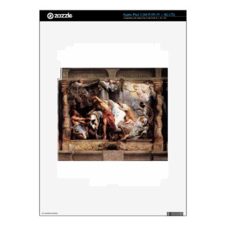 The Victory of Eucharistic Truth over Heresy Peter iPad 3 Skin