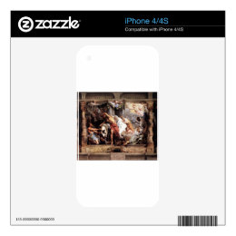 The Victory of Eucharistic Truth over Heresy Peter iPhone 4S Decal