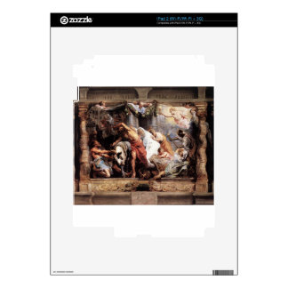 The Victory of Eucharistic Truth over Heresy Peter iPad 2 Decals