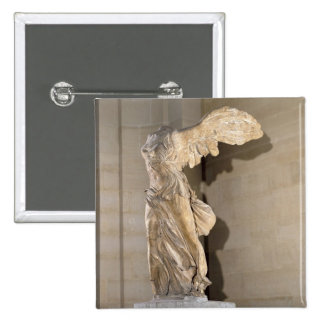 The Victory of Samothrace Button
