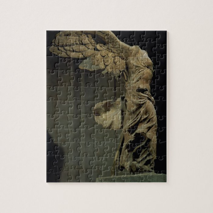 The Victory of Samothrace (Parian marble)  (see al Jigsaw Puzzle