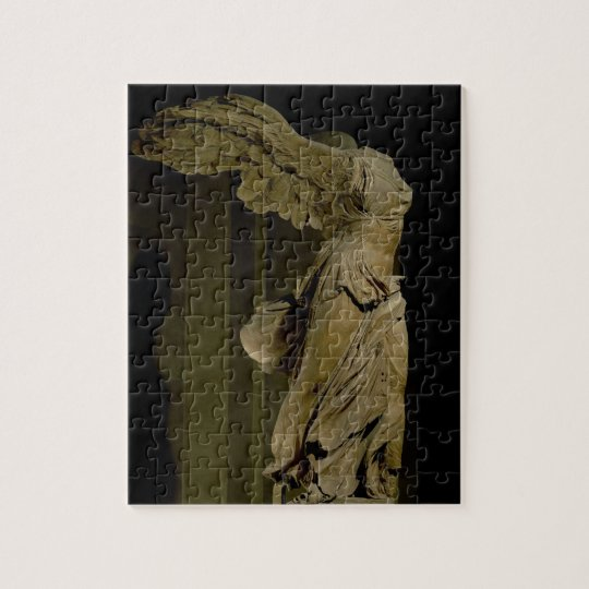 The Victory of Samothrace (Parian marble) (see als Jigsaw Puzzle