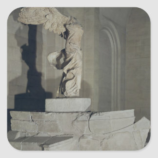 The Victory of Samothrace Square Sticker