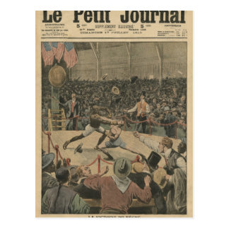 The victory of the negro postcard