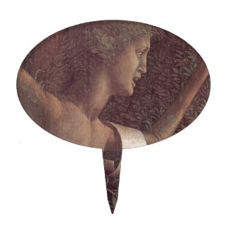 The victory of virtue by Andrea Mantegna Cake Topper