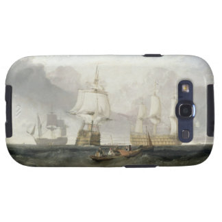 The 'Victory' Returning from Trafalgar, 1806 (oil Samsung Galaxy S3 Covers