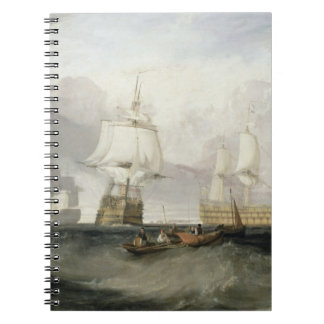 The 'Victory' Returning from Trafalgar, 1806 (oil Spiral Note Books