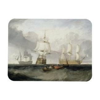 The 'Victory' Returning from Trafalgar, 1806 (oil Magnet
