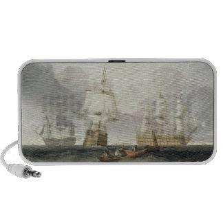 The 'Victory' Returning from Trafalgar, 1806 (oil Travel Speaker