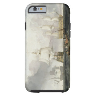 The 'Victory' Returning from Trafalgar, 1806 (oil Tough iPhone 6 Case