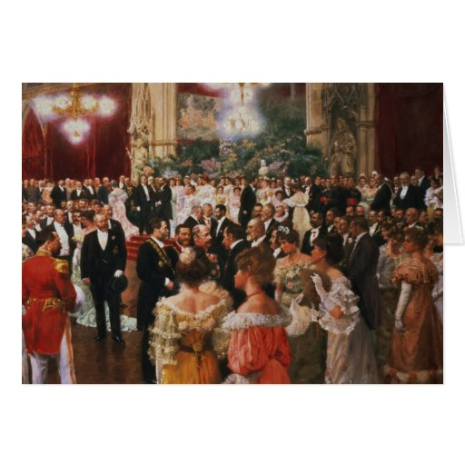 The Viennese Ball Greeting Card