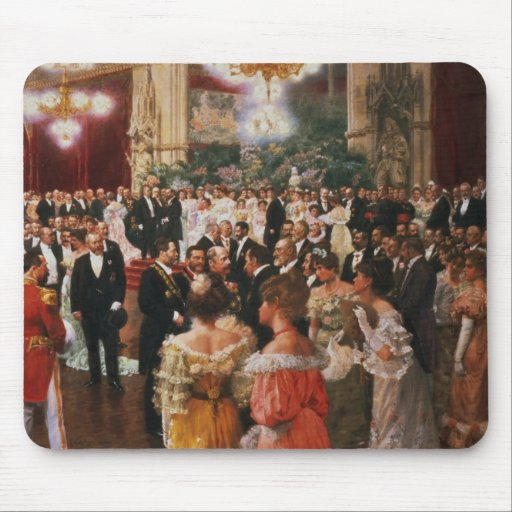 The Viennese Ball Mouse Pad