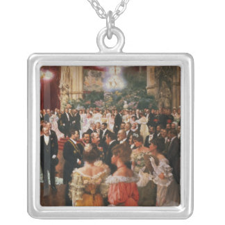 The Viennese Ball Silver Plated Necklace