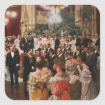 The Viennese Ball Square Sticker