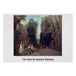 The View By Antoine Watteau Posters