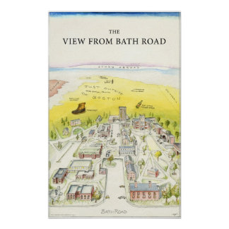 The View From Bath Road Print