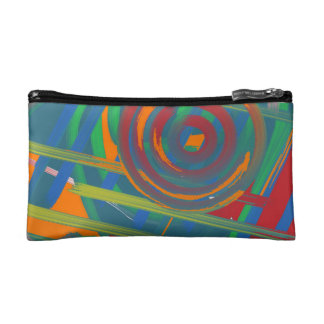 The view from beneath the Beach Cliff Makeup Bag