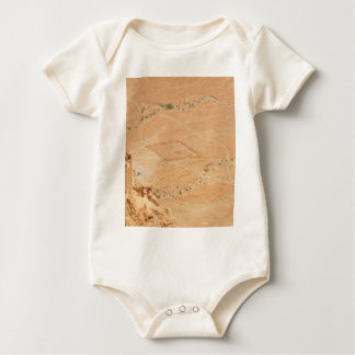 The View From Masada Baby Bodysuit