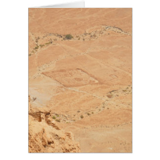 The View From Masada Greeting Card