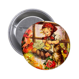 THE VIEW FROM MOTHER'S WINDOW.jpg Pinback Button
