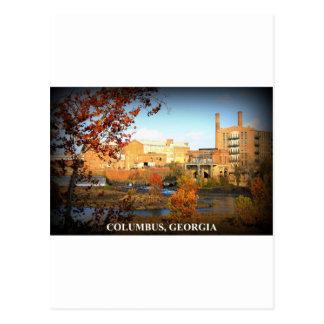 THE VIEW FROM PHENIX CITY, ALABAMA POSTCARD