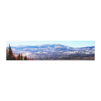 The View From Sugarloaf USA Stretched Canvas Print
