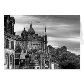 The view from the Scotsman - B&W Card