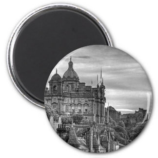 The view from the Scotsman - B W Magnet