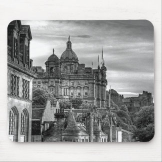 The view from the Scotsman - B&W Mouse Pad