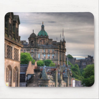 The view from the Scotsman Mouse Pad