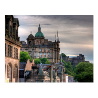 The view from the Scotsman Postcard