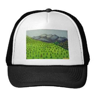 The View of Mount Baldy by Julia Hanna Trucker Hat