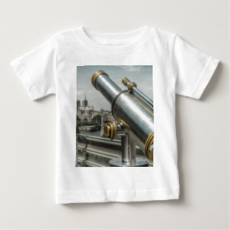 The view to Cathédrale Notre Dame, Paris France Baby T-Shirt