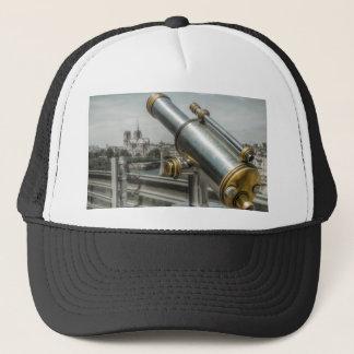 The view to Cathédrale Notre Dame, Paris France Trucker Hat