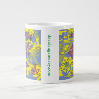 """The Viewpoint Of A Seaweed"" davideugeneivey.com Giant Coffee Mug"