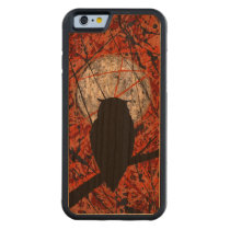 THE VIGIL! (abstract owl design) ~ Carved Cherry iPhone 6 Bumper Case