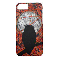 THE VIGIL! (abstract owl design) ~ iPhone 8/7 Case
