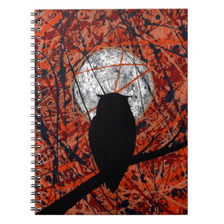 THE VIGIL (Can't Fight The Moonlight ~ Owl theme) Notebook