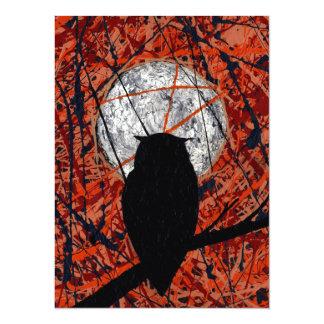 THE VIGIL (owl design) ~ Card