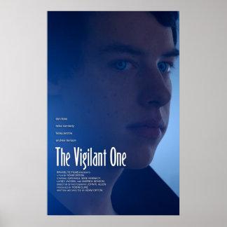 """The Vigilant One"" (Demon) Poster"
