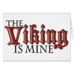 The Viking is Mine Card