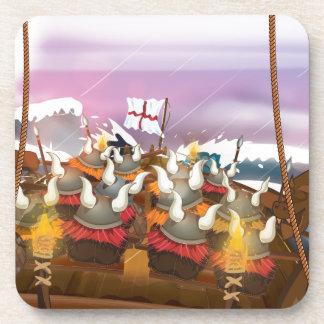 The Vikings Beverage Coaster
