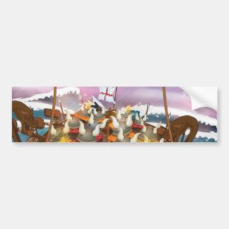 The Vikings Bumper Sticker